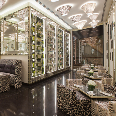 Indulge the animal in you at Cavalli Caffe
