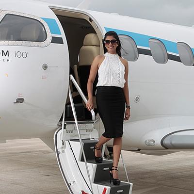 Customised Private Jet