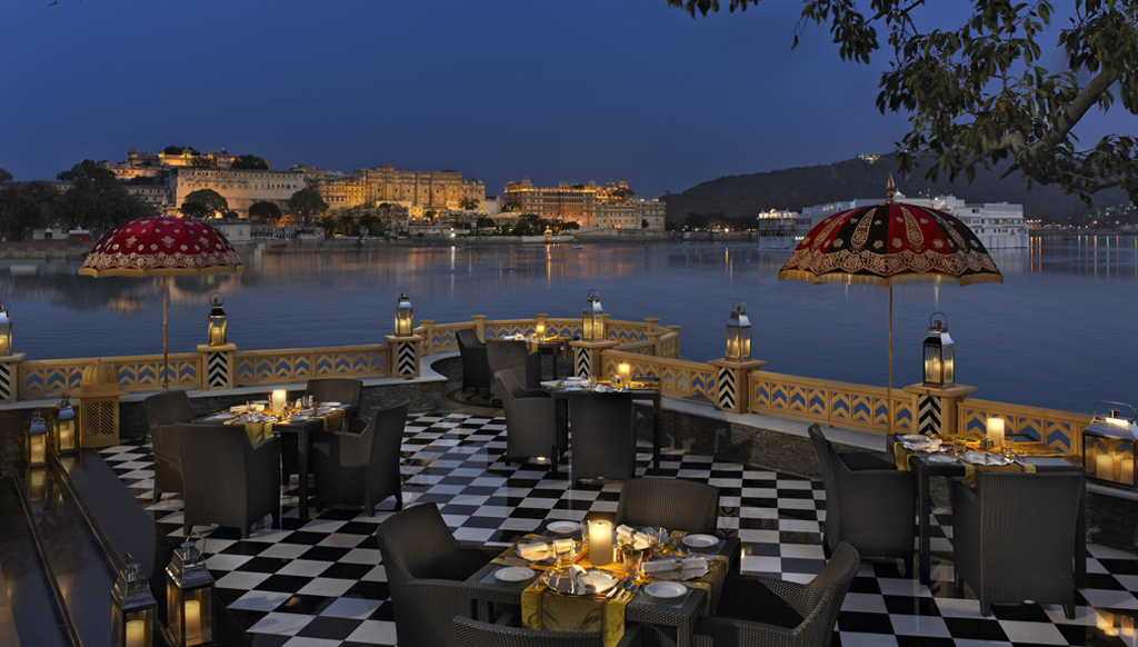 Starry splendour at Leela Udaipur