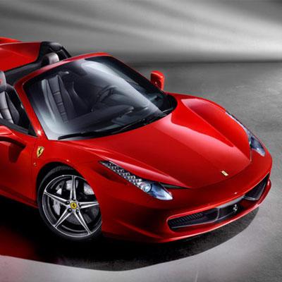 Ferrari Spider Indian