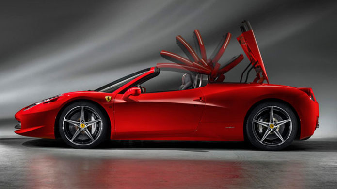 HATS OFF | Ferraris retractable roof that takes around 14 stylish seconds to deploy