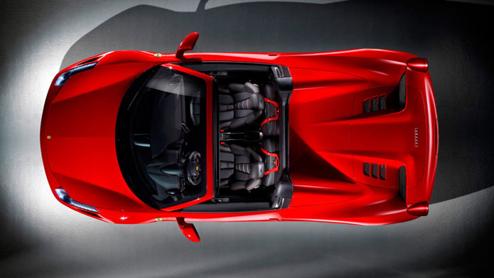 OVER THE TOP | She weighs 40kg less than a traditional hardtop and nearly 25kg less than a sports car with a canvas top