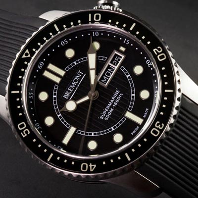 A watch to dive in to the depths