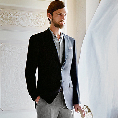 Mohair Jacket By Canali