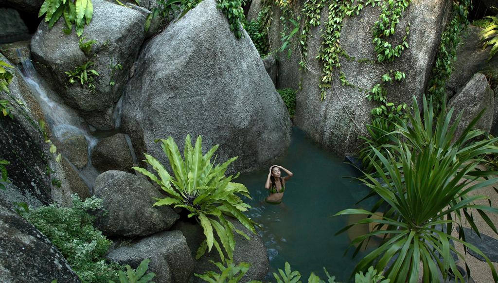 A scenic spa break at Tamarind Springs