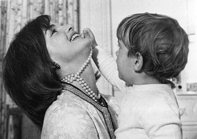 Jacqueline Kennedy with her son, John F. Kennedy, Jr Photo: JFK Library