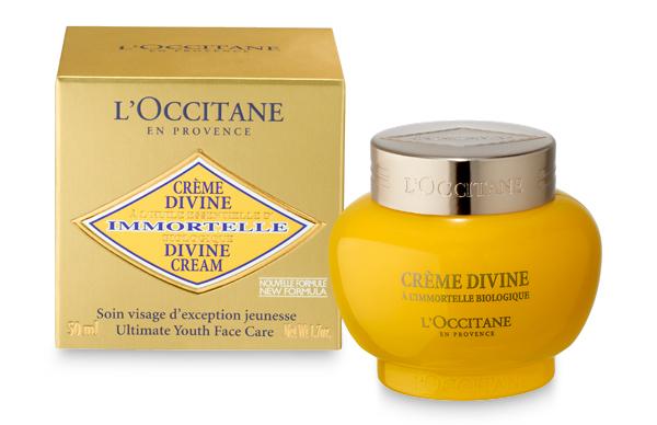 Immortal Divine Cream by L'Occitane.
