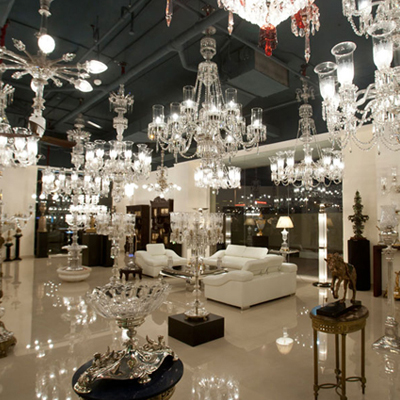 Light it up with Osler chandeliers
