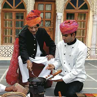 Kitchen secrets from India's royal households