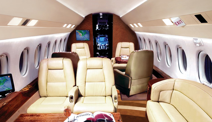 With the economy gaining steam, the demand for private business jets is expected to soar again