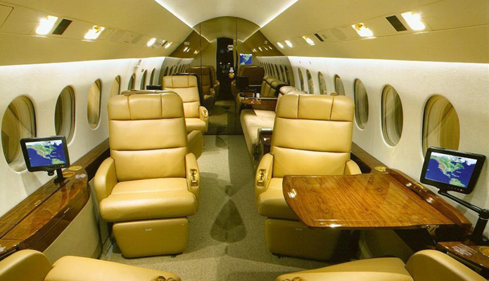 Remember to specify the cabin interiors and layout. Photo by Taj Air