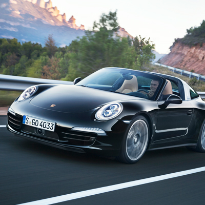 Porsche India announces arrival of the iconic 911 Targa
