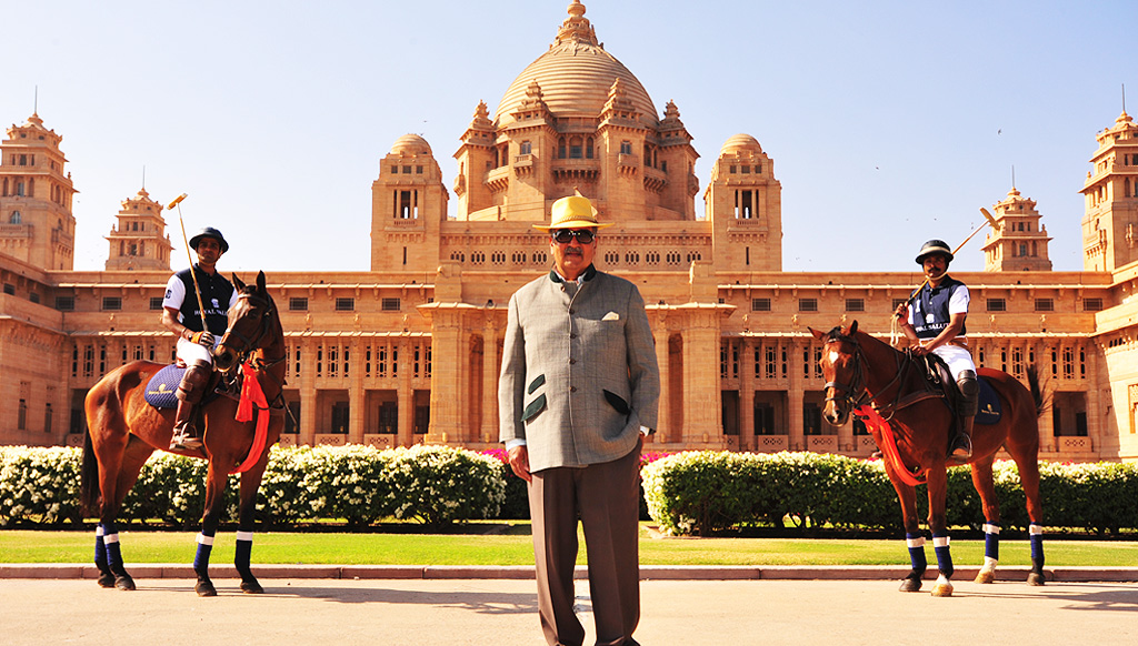 Travel talks with the Maharaja of Jodhpur