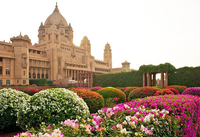 Royal Façade | Umaid Bhawan Palace in all its splendour.