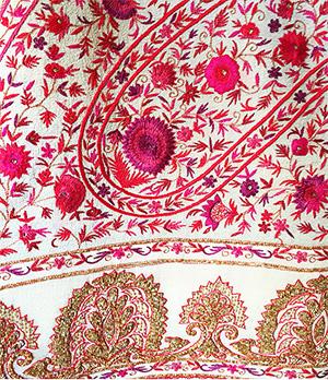 A georgette shawl bought by Neeta Ambani