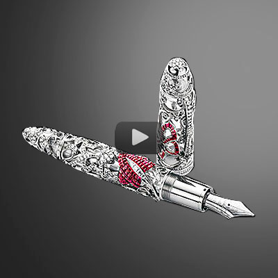World's finest hand-crafted luxury pens