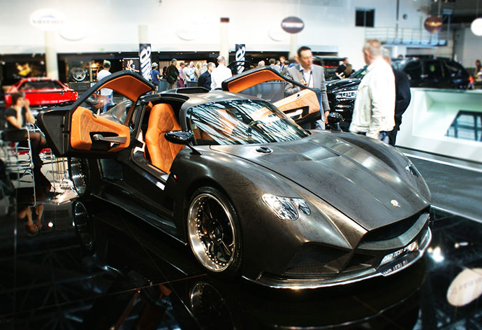 Mazzanti Evantra is also one of the luxury car brands to exhibit at the Top Marques