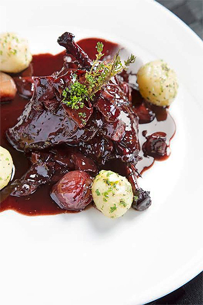 SIGNATURE STYLE | The all-time favourite, coq au vin, from the Nostalgia kitchen