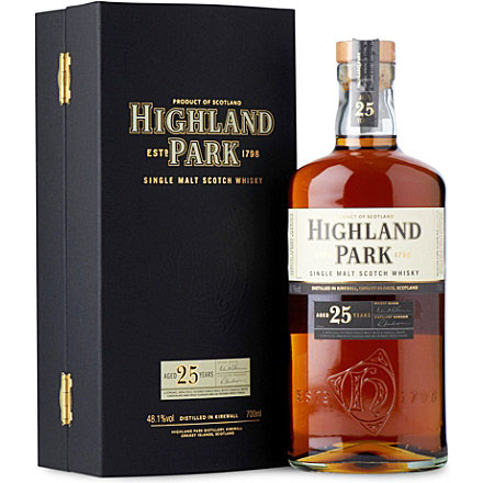 FRUITY PUNCH | Feel the undercurrents of toffee, caramel and canned fruits in this long-aged malt from Highland Park