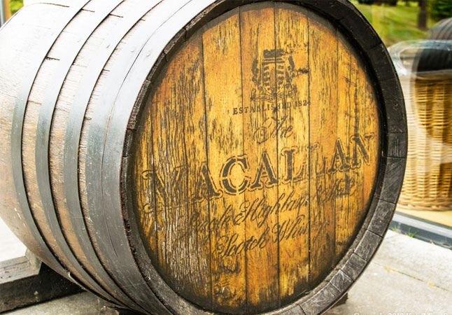 CASKED IN OAK | Whisky which is aged to perfection in oak casks tastes of woods and spices