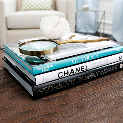 Trendy tomes for your coffee table