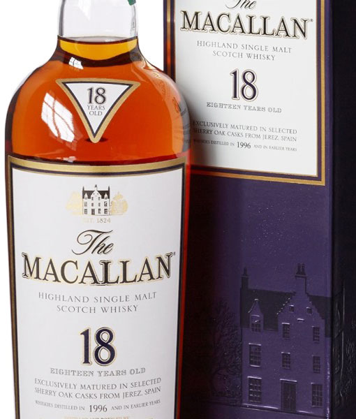 SHERRIED SMOOTHNESS | Coming from the celebrated distillery, Macallan 18 year old is one to cherish
