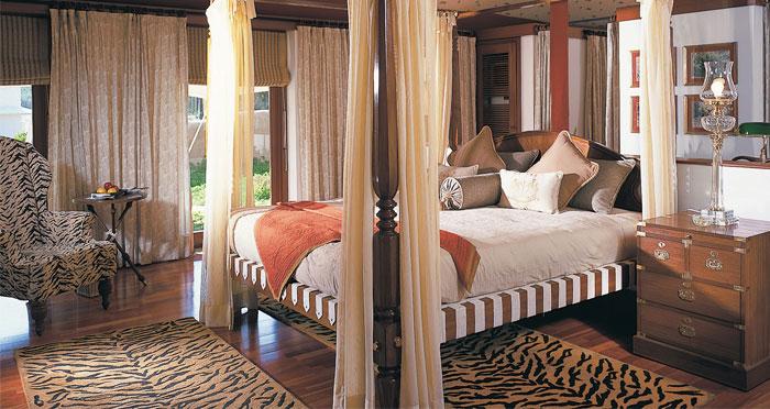 Luxury tent at Oberoi Vanyavilas, Ranthambhore