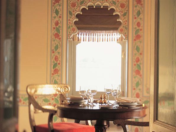 Royal suite at Taj Lake Palace, Udaipur