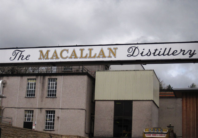 MACALLAN DISTILLERY | An iconic Scottish distillery which comes with a legacy