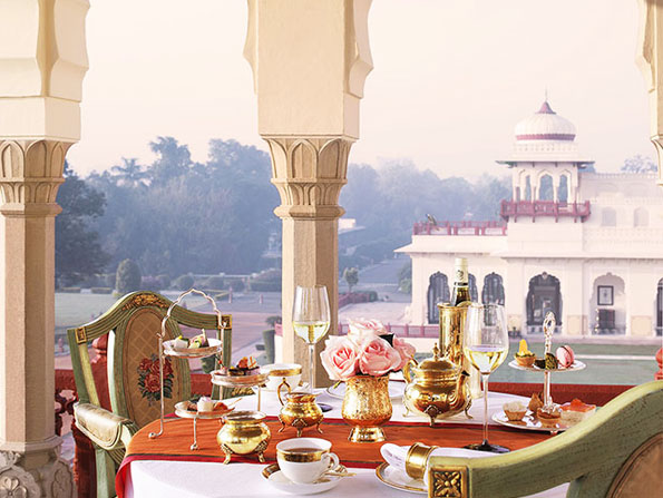 Indulge royally for an afternoon Tea at Rambagh Palace, Jaipur