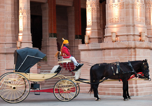Umaid Bhawan Palace, managed by Taj Hotels, is a blend of eastern and western architectural influences