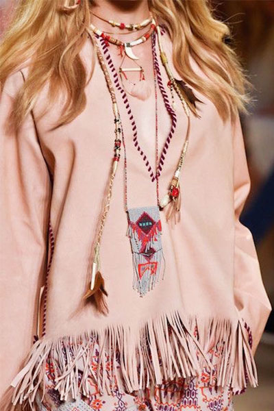 FRINGE FUN | The fringe saw its revival as we spotted it on almost every runway