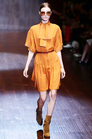 TANGY TOUCH |Gucci's SS15 collection had no-fuss silhouettes in plenty
