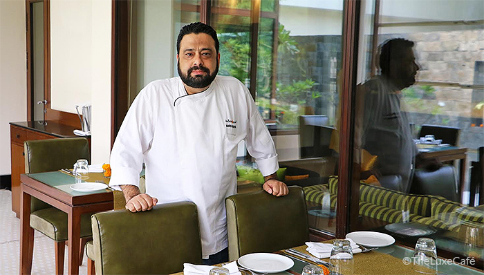 BRUSHING AWAY STEREOTYPES | Mehrotra is resolved to change the perception of Indian food on the international scenario  Photo courtesy: Sajeev Kumarapuram