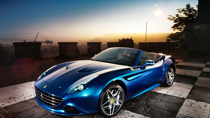 BLUE EYED BOY | The blue sky, the blue car and the blue lights – the color never looked so electrifying