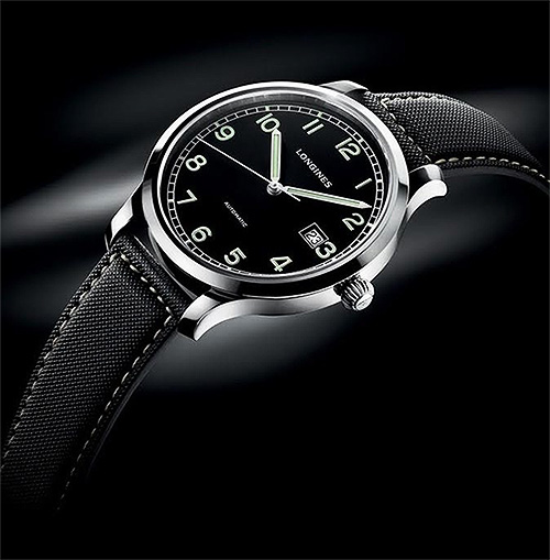 LONGINES HERITAGE MILITARY | With its clean, flowing lines and distinct feel,this masterpiece has rightly been called the quintessence of classicism in watch making