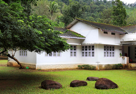 SPOTLESS PERFECTION | The bungalow stands tall amidst vast expanses of green and resembles an innocent budding flower, thanks to its pristine white hue