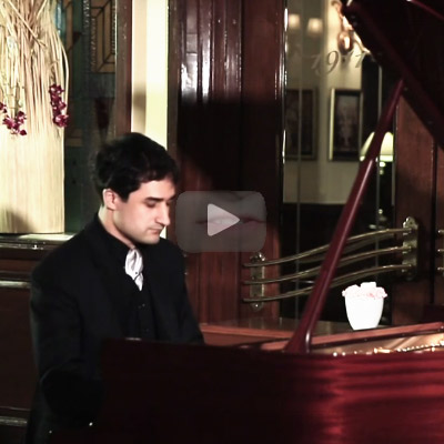 Relive the mystical magic of a musical evening with pianist Balázs Fülei