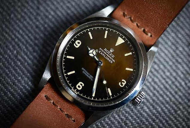 ROLEX EXPLORER 1016 | The watch oozes classic appeal like no other. Photograph: Hodinkee.com