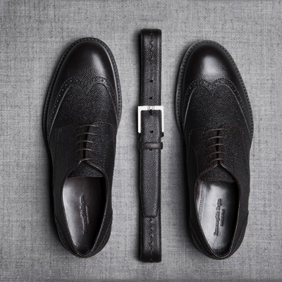 Style Stamp | bespoke services like shoe customisation, offered by luxury brands like Zegna, enhance client's experience offering them an opportunity to create and flaunt a personal style