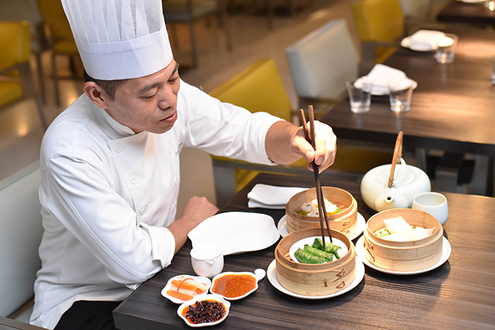 TRAILING TRADITION | Rejuvenating a culinary classic takes improvisation and a chef's instinct which then turn out dishes like truffle edamame dumplings, another one from Yauatcha
