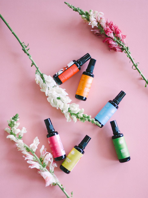 LOTUS WEI | They are on a flowerevolution spree with the beautiful flower elixirs, oils and mists