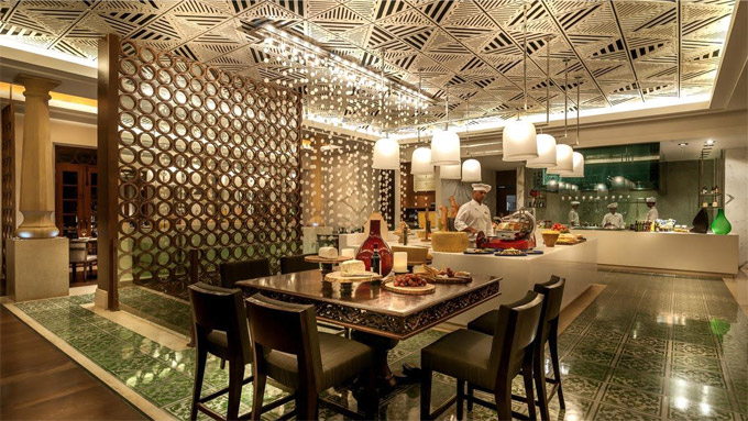 THE VERANDAH | Featuring Goa's fresh seafood, the restaurant has been awarded for also won the 2015 Spirit of Hospitality Award and is noted for its Grill menu as well