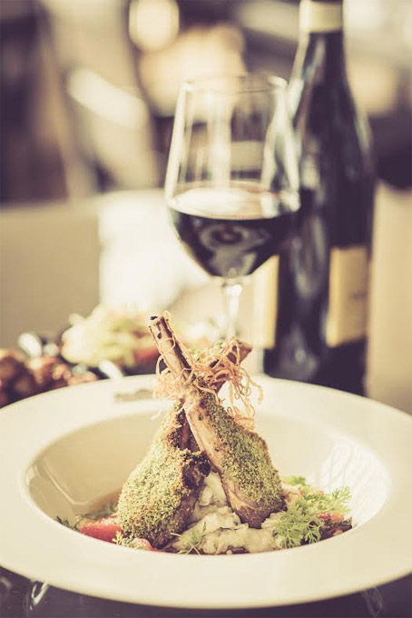 AESTHETIC EVOLUTION | Dishes which re-imagine cuisine as a confluence of cultures are apt for the world travelling Indians and exemplified by the Chef's plate of lamb chops with lentil mash