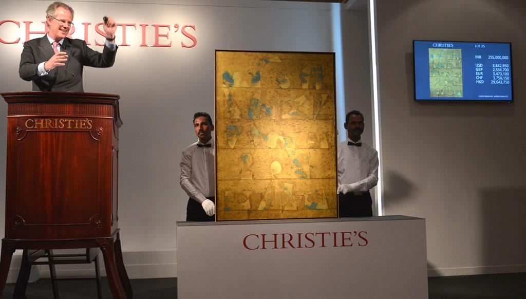 Christie's 3rd India Art Sale