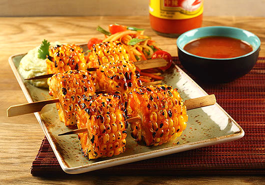 WEIGHT-WATCHERS DELIGHT | Uncompromising on taste, the Asian Grills menu promised a treat for the vegetarians and the calorie-conscious alike with innovations like Sriracha corn on cob