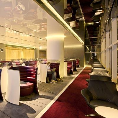 This lounge defines luxury