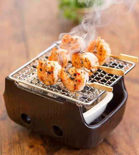 CONCEPT FOOD | Grilling food is a healthy way of cooking them which preserves their juiciness and adds a sharp smokey flavour too