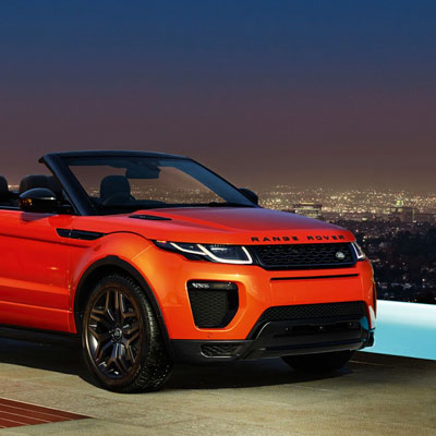 Range Rover Evoque world's first luxury SUV convertible