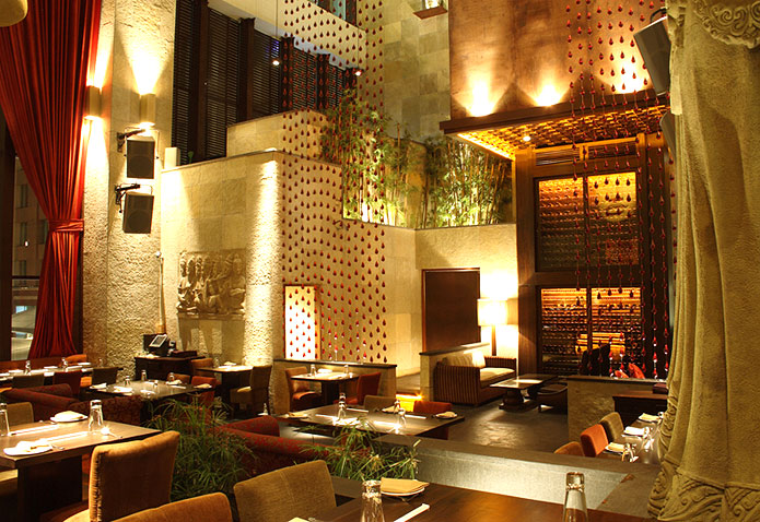 FOOD YOGA| The serene ambience inside Shiro enhances the experience with food which is a feast for all the senses